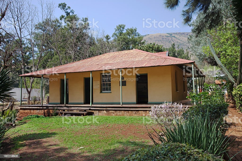 Paul Kruger Hideout Home stock photo