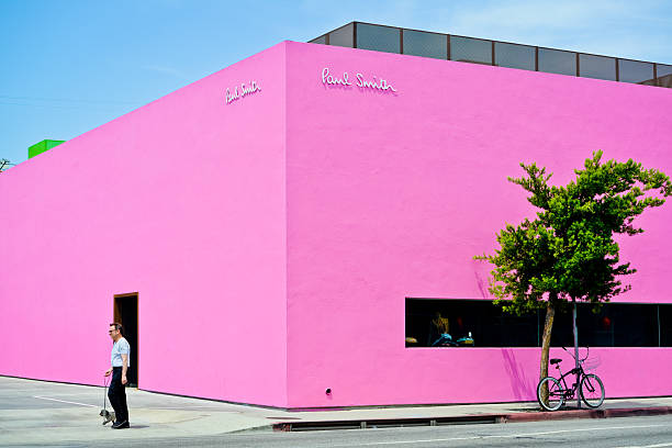 Paul Smith Store on Melrose Avenue, Los Angeles stock photo