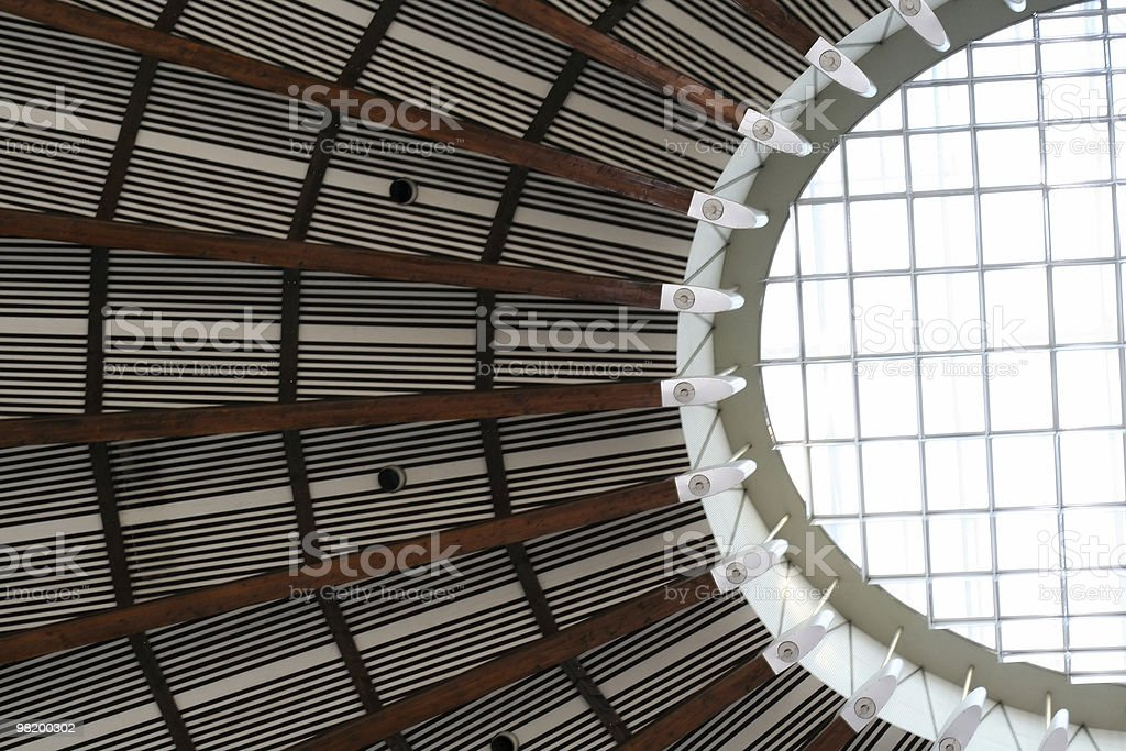 Paulskirche ceiling royalty-free stock photo