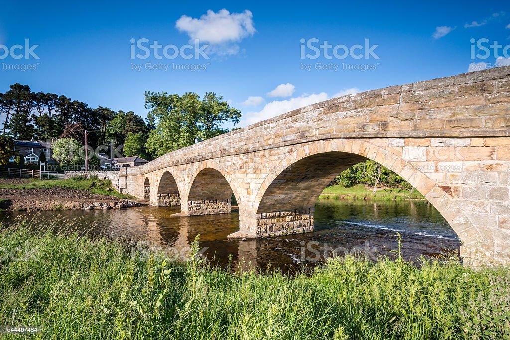 Pauperhaugh Bridge stock photo