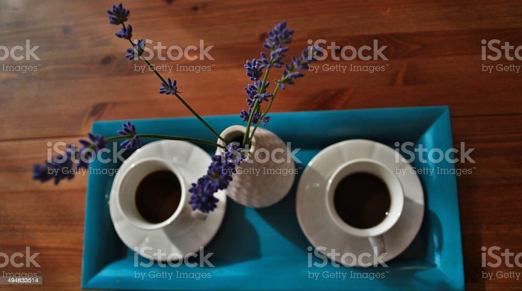 Pausa caffè stock photo