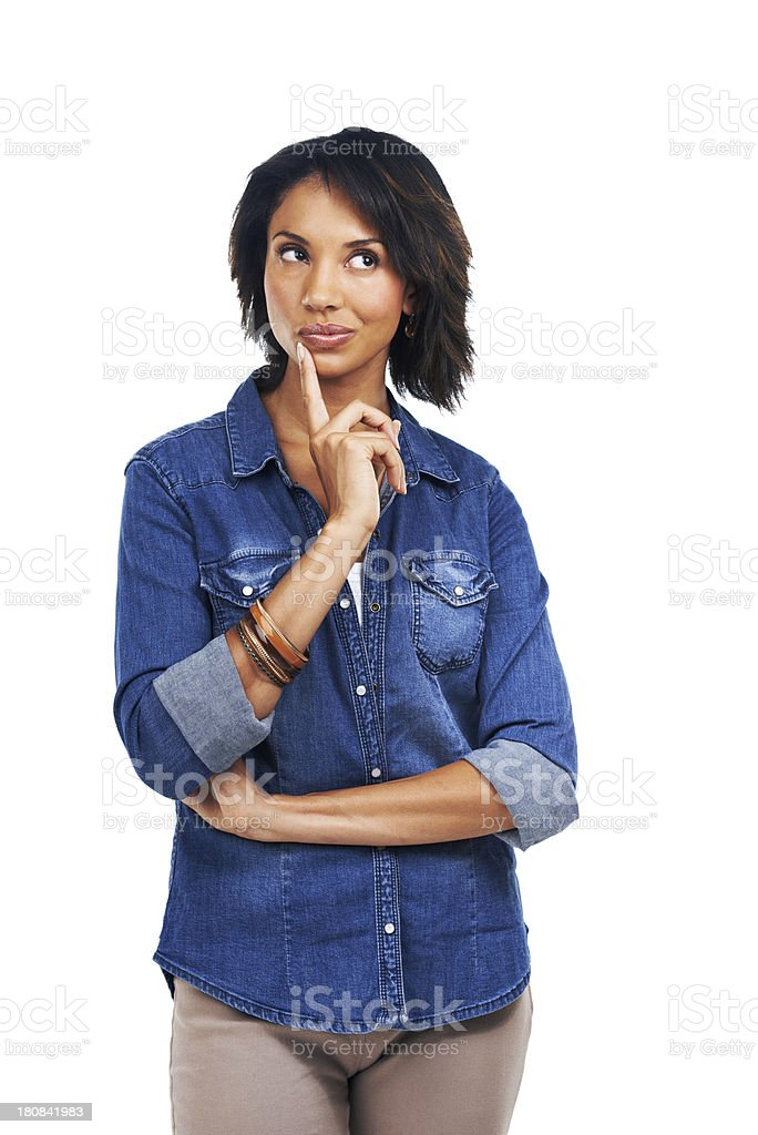 Pause for thought... royalty-free stock photo