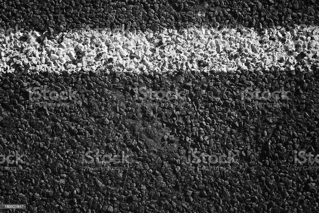 Paved road texture royalty-free stock photo