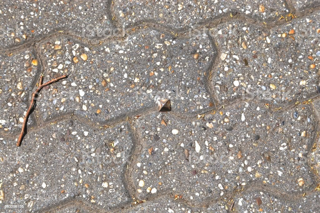 pavement from a stone 免版稅 stock photo