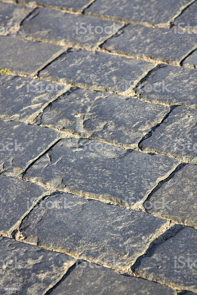 Pavement royalty-free stock photo