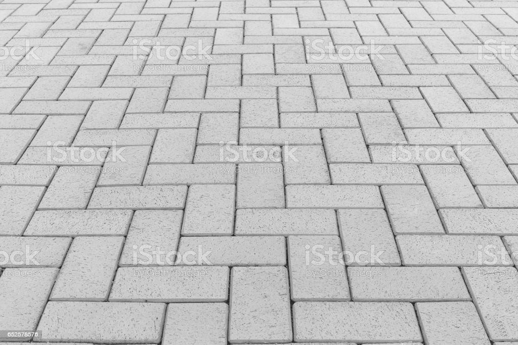 Paver block floor background stock photo