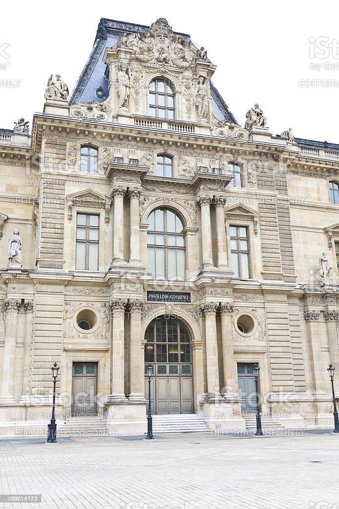 Pavilion Colbert of Louvre, Paris royalty-free stock photo
