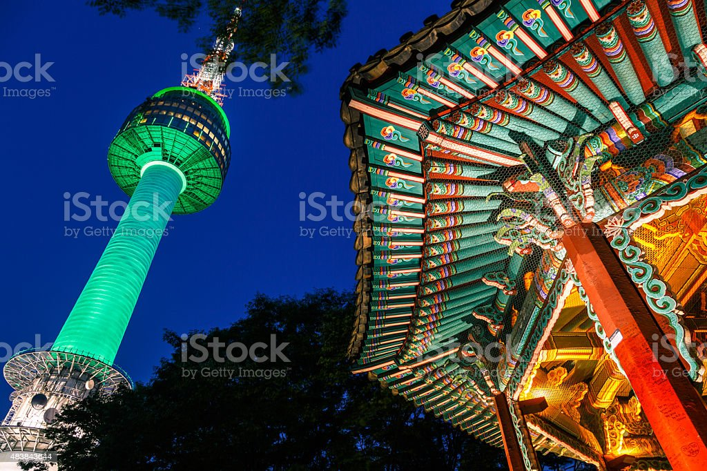 Pavilion Of South Korea stock photo