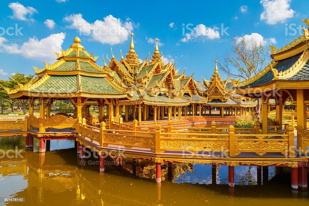 Pavilion of the Enlightened Thailand photo libre de droits