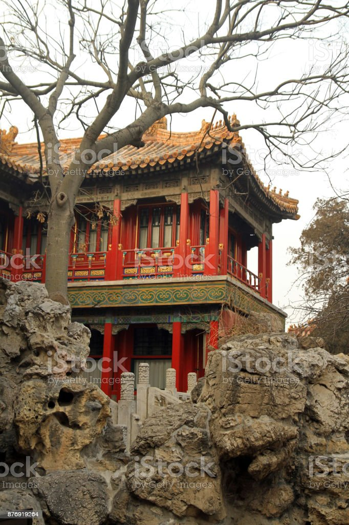 Pavilion of the Imperial View stock photo