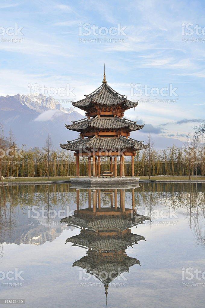 Pavilion royalty-free stock photo