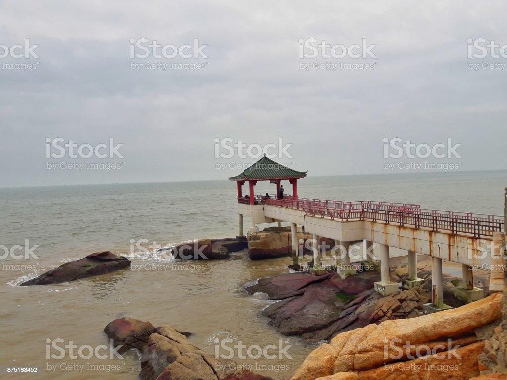 Pavillon stock photo