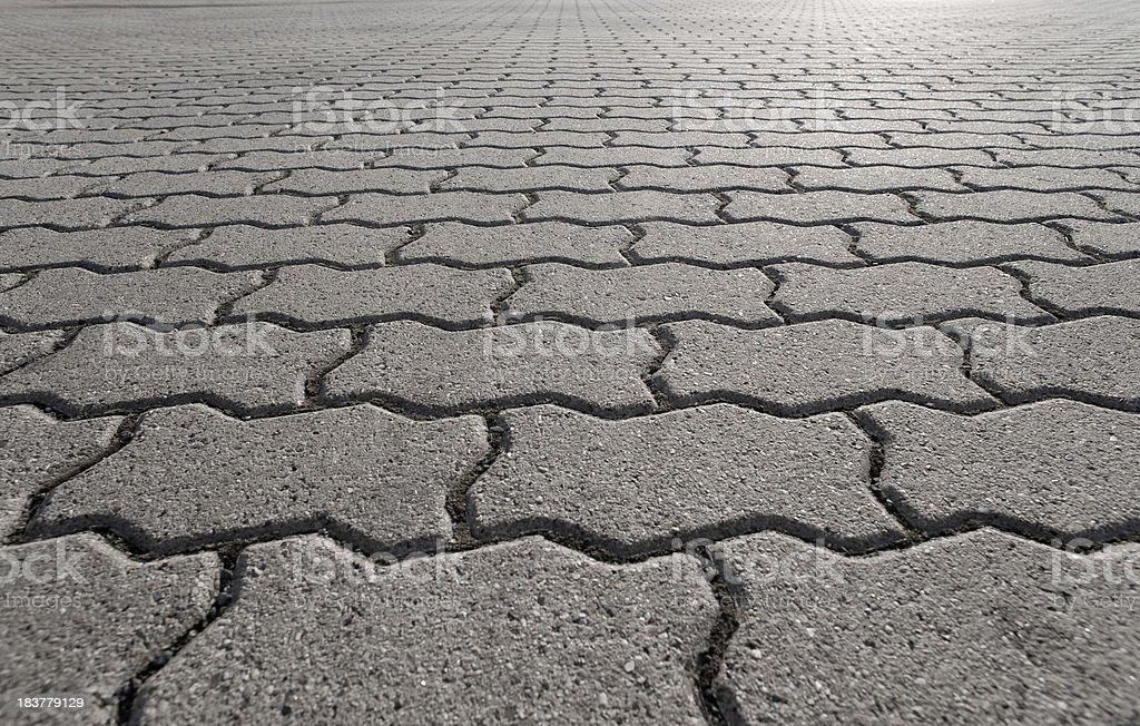 Paving stone concrete stock photo
