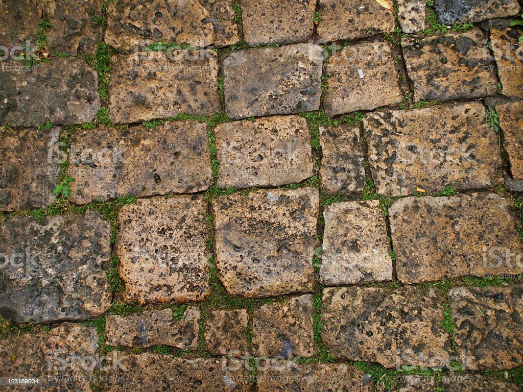 Paving Stone royalty-free stock photo