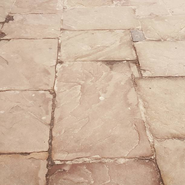 Paving Stones Background. stock photo