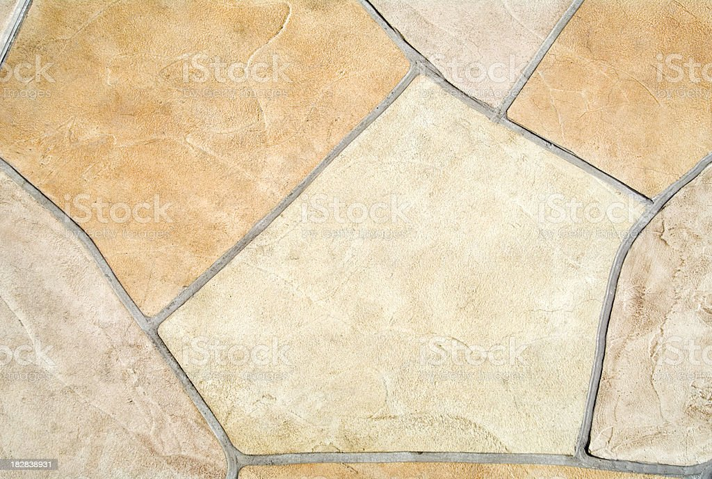 Paving Stones of an Outdoor Swimming Pool royalty-free stock photo