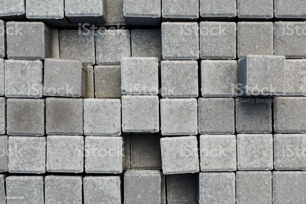 Paving Tiles Warehouse Stock Photo - Download Image Now - iStock