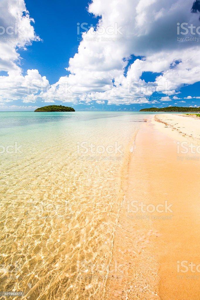Paw Paw Bay beach stock photo