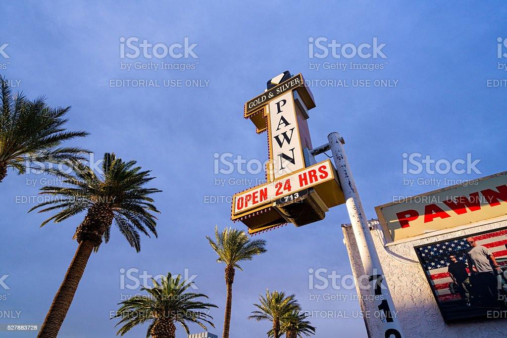Pawn Stars Shop in Las Vegas stock photo