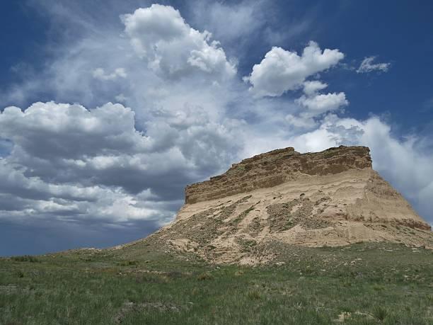Pawnee Buttes stock photo