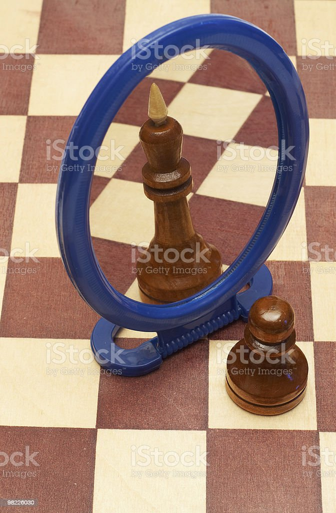Pawns Sogno foto stock royalty-free