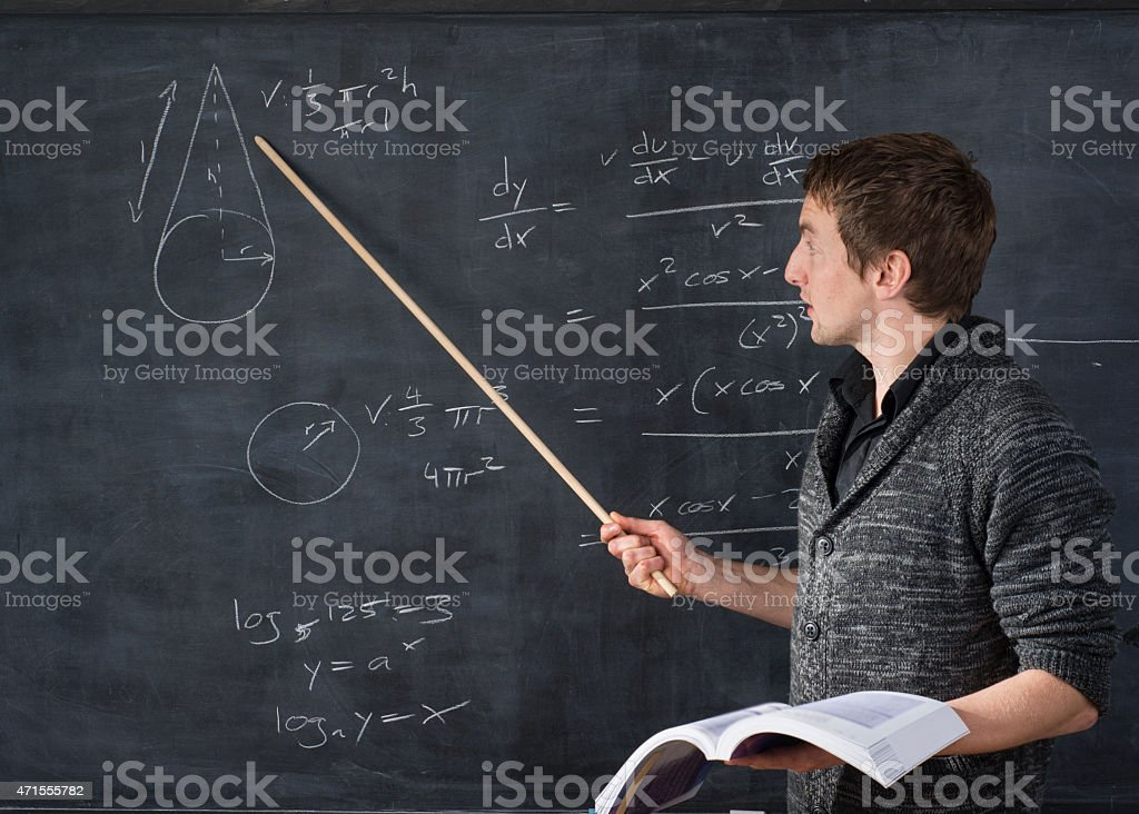 Pay attention stock photo