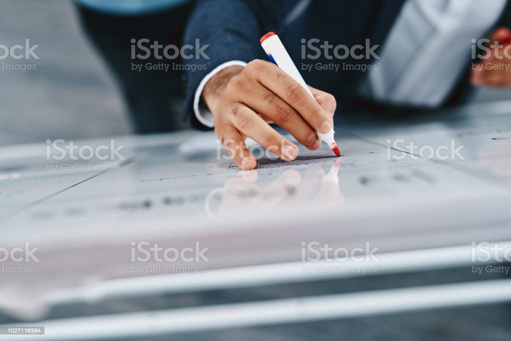 Pay attention to detail stock photo