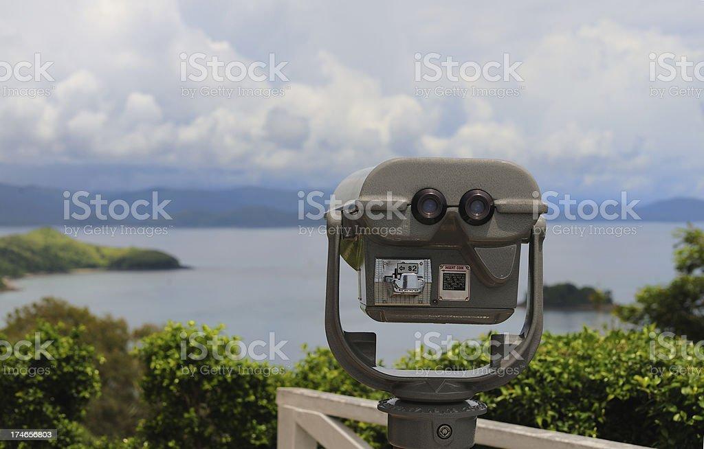 Pay Binoculars royalty-free stock photo