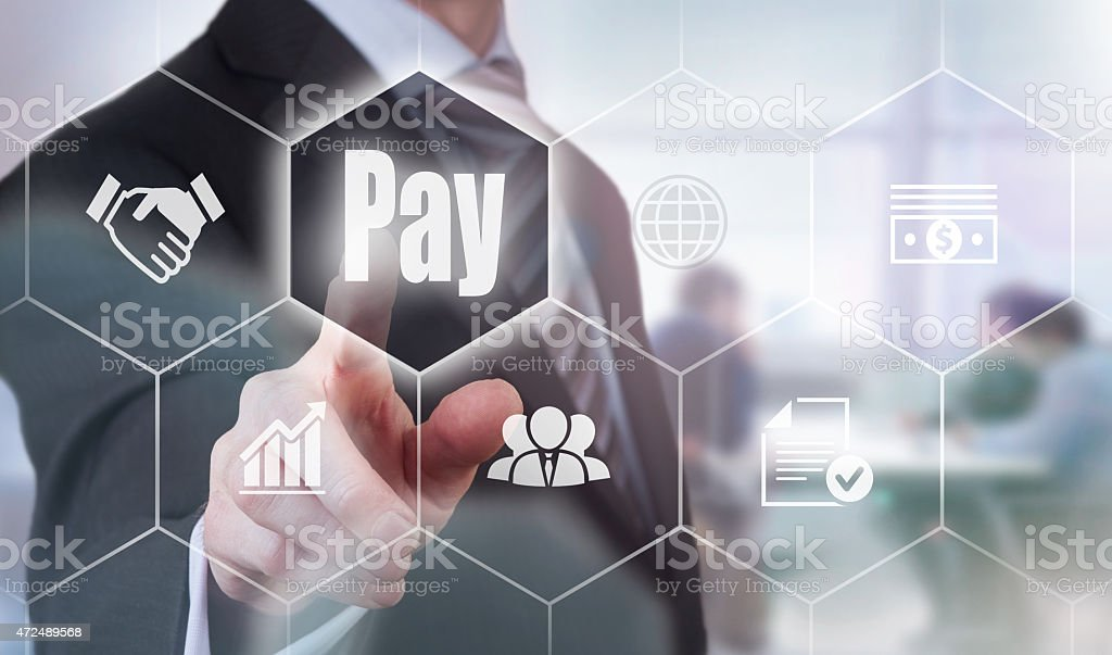 Pay Concept stock photo