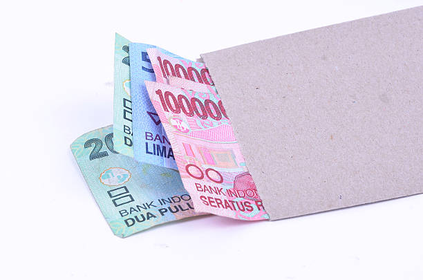 Pay Day in Indonesia stock photo