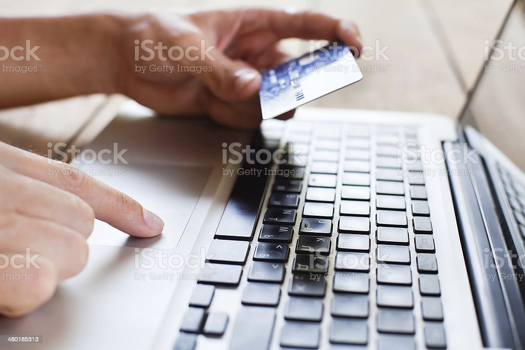 pay online stock photo