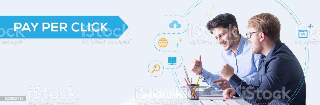 Pay Per Click Concept stock photo