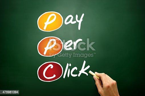 istock Pay per click 475981094