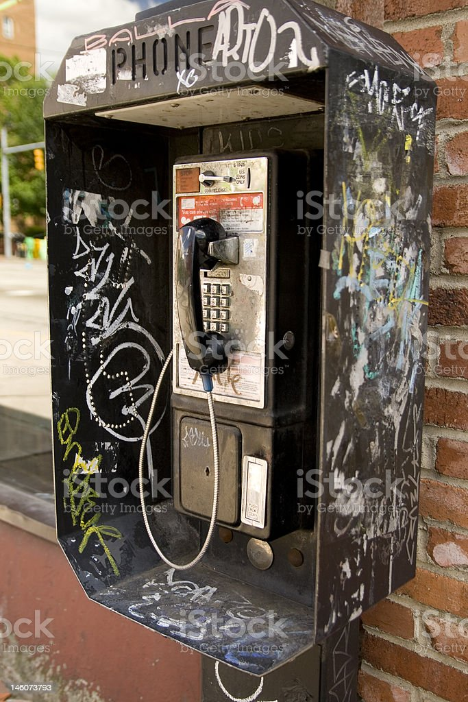 Pay phone royalty-free stock photo