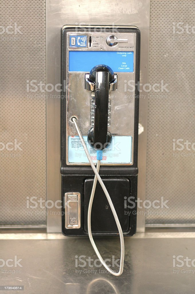 Pay Phone stock photo