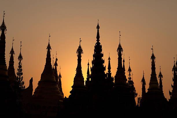paya shwedagon, yangon, myanmar - Photo