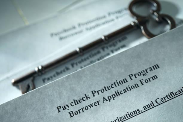 Cтоковое фото paycheck protection program