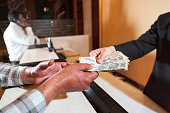 istock Paying For Something - Indian Rupees 470134638