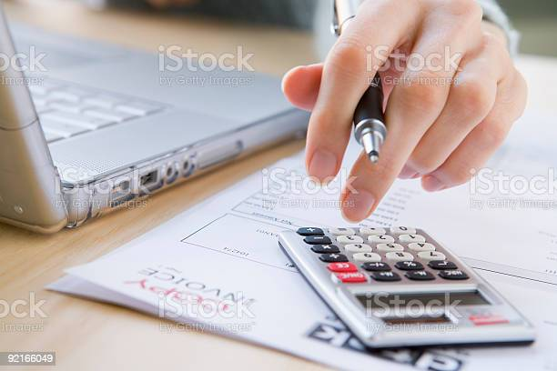Paying The Bills Stock Photo - Download Image Now
