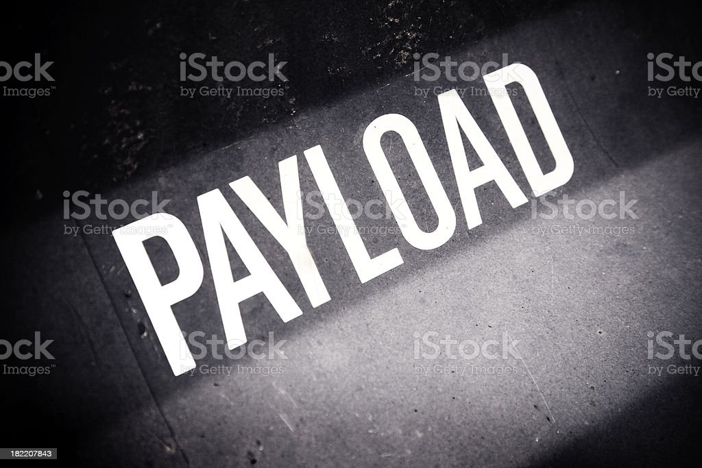 Payload stock photo