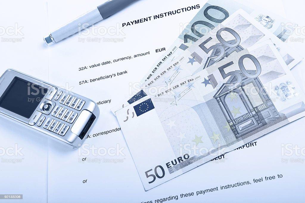 Zahlung-Konzept Lizenzfreies stock-foto