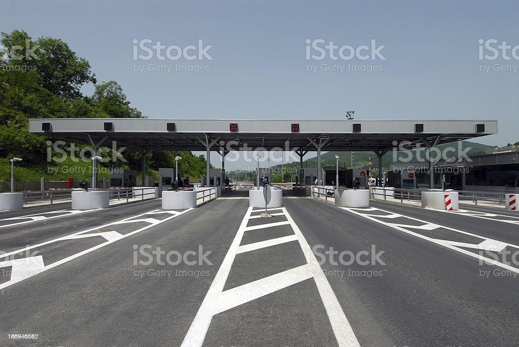 Zahlung highway – Foto
