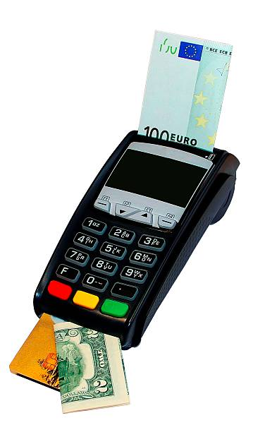 payment terminal (cashing) - disbursement stock pictures, royalty-free photos & images
