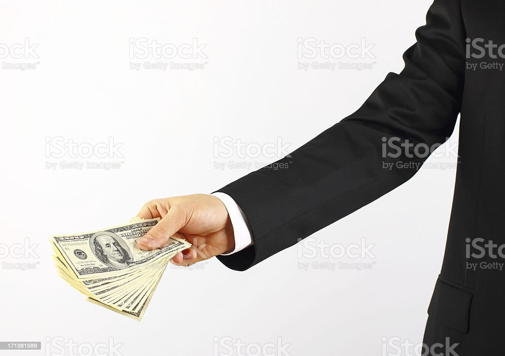 Payments royalty-free stock photo