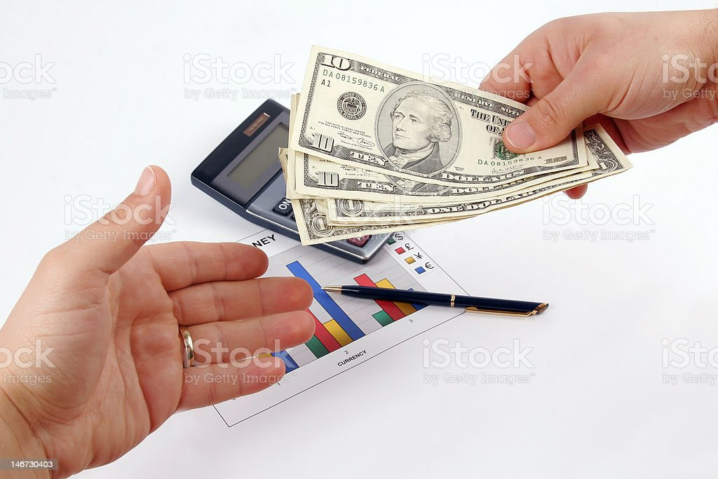 Payout Day royalty-free stock photo