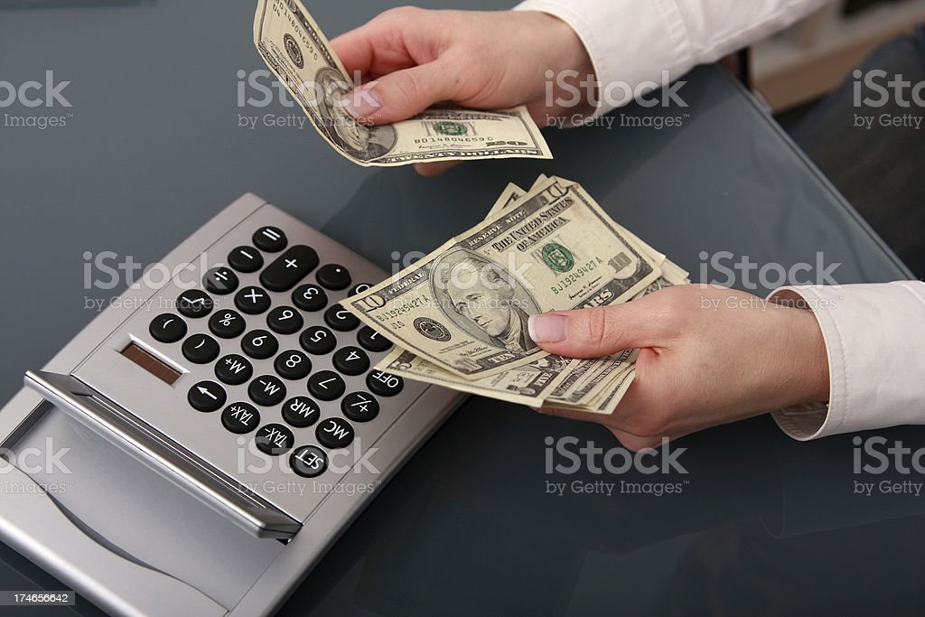 Payout royalty-free stock photo
