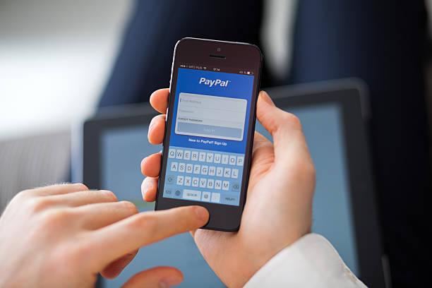 PayPal app für iPhone 5 – Foto