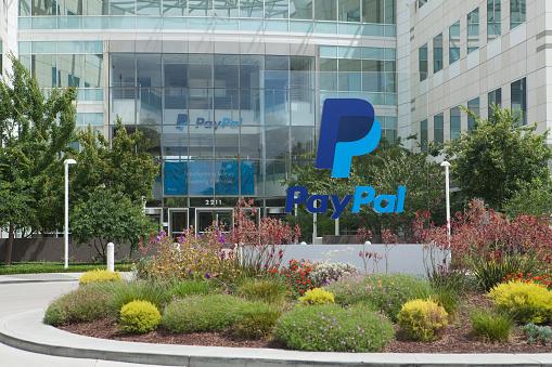 San Jose, USA - June 27, 2015: PayPal Headquarters