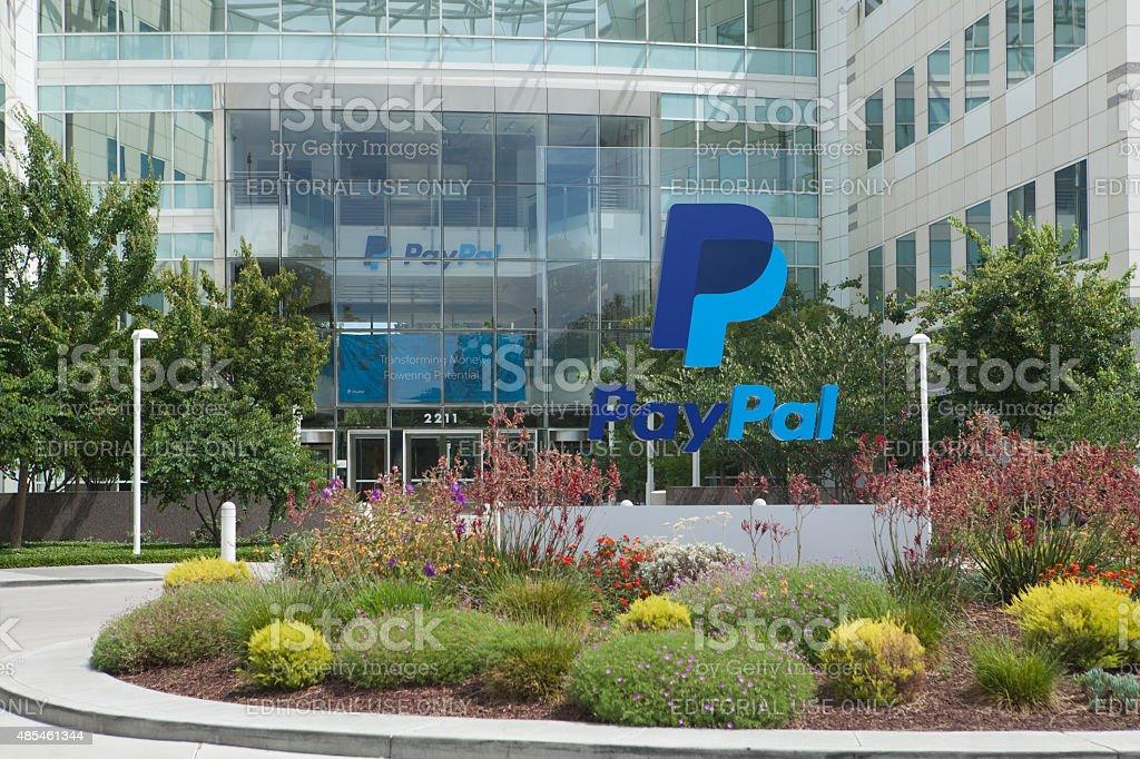 PayPal sede centrale - foto stock