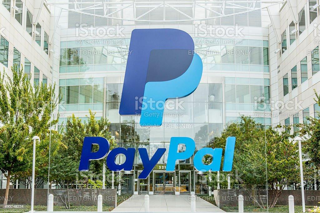 PayPal Headquarters San Jose stock photo